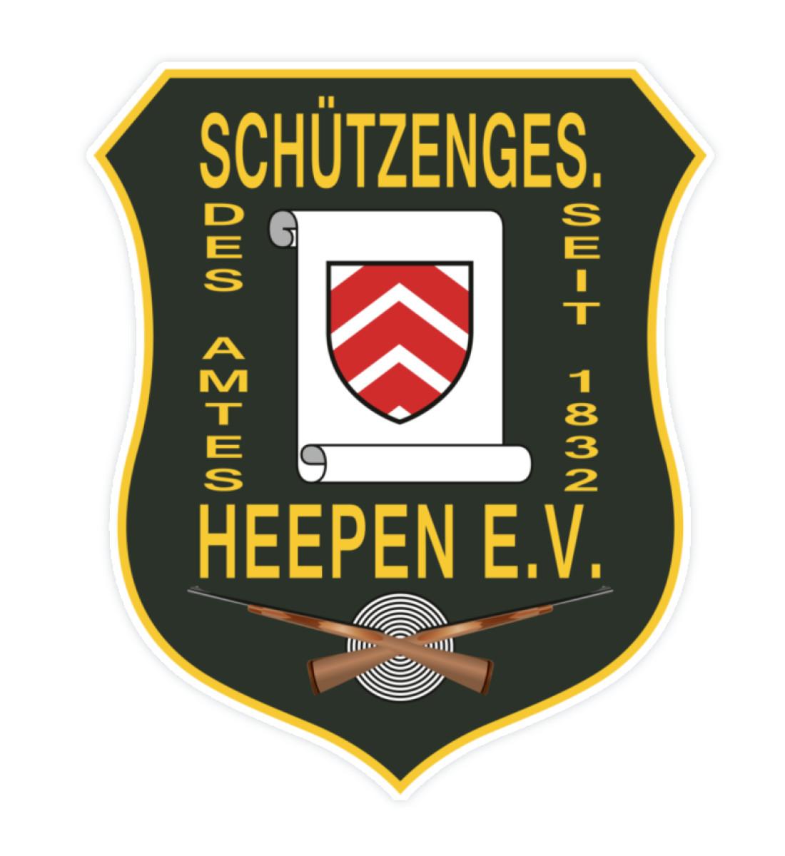 Schützengesellschaft Heepen - Sticker-3