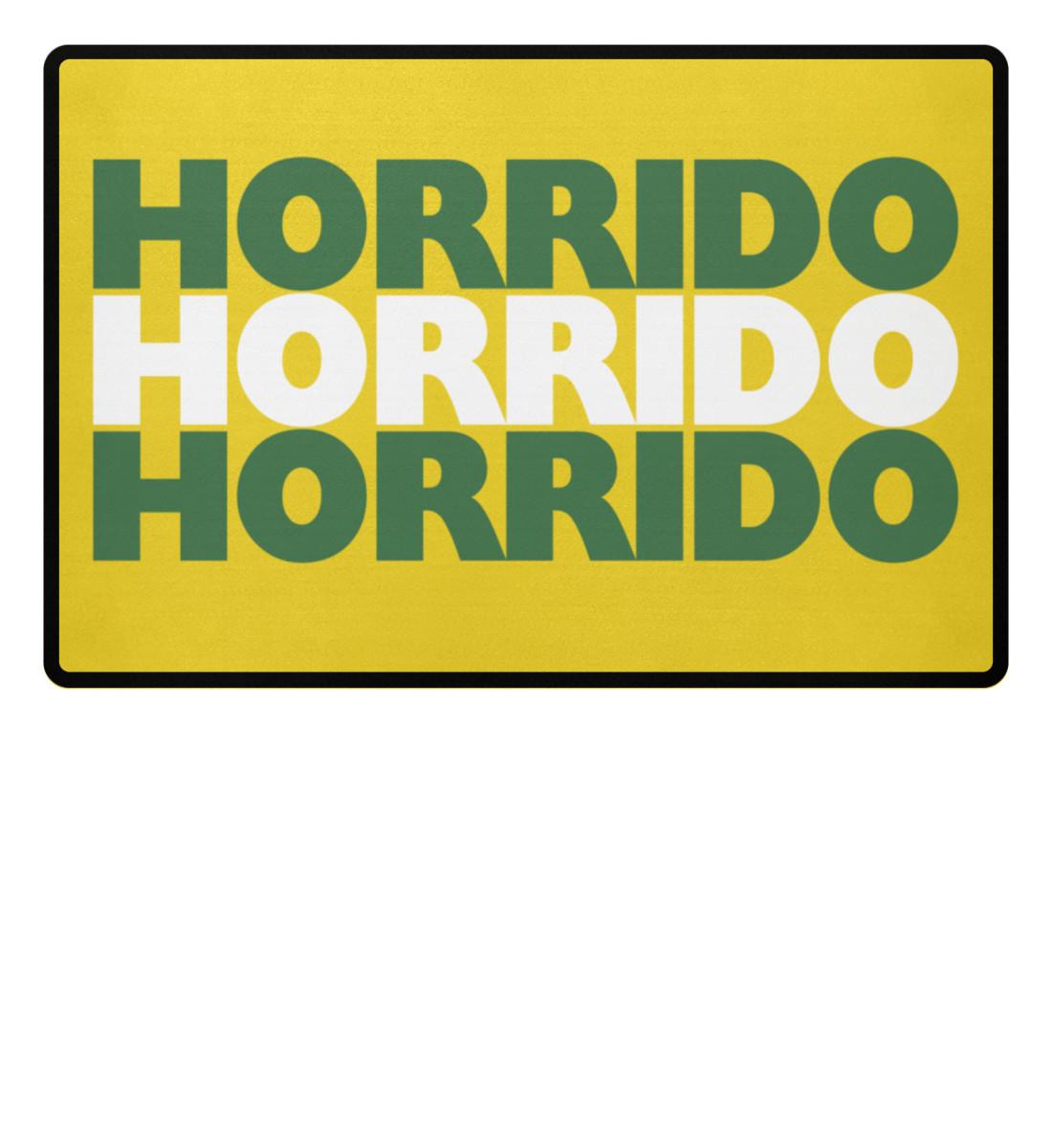 Horrido - Fußmatte-5766
