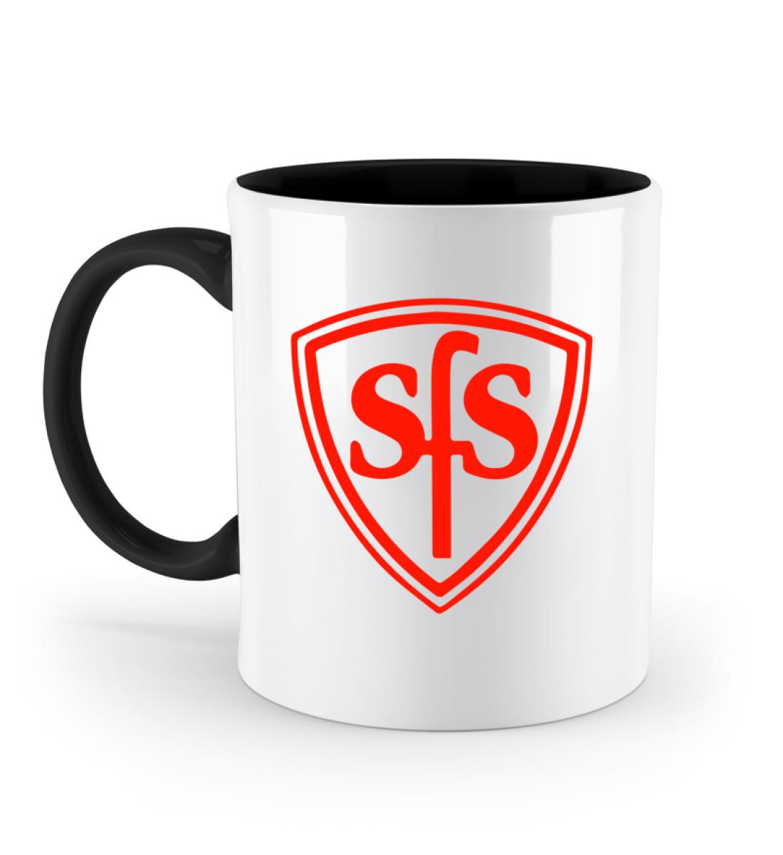 Sportfreunde Sennestadt - Zweifarbige Tasse-16