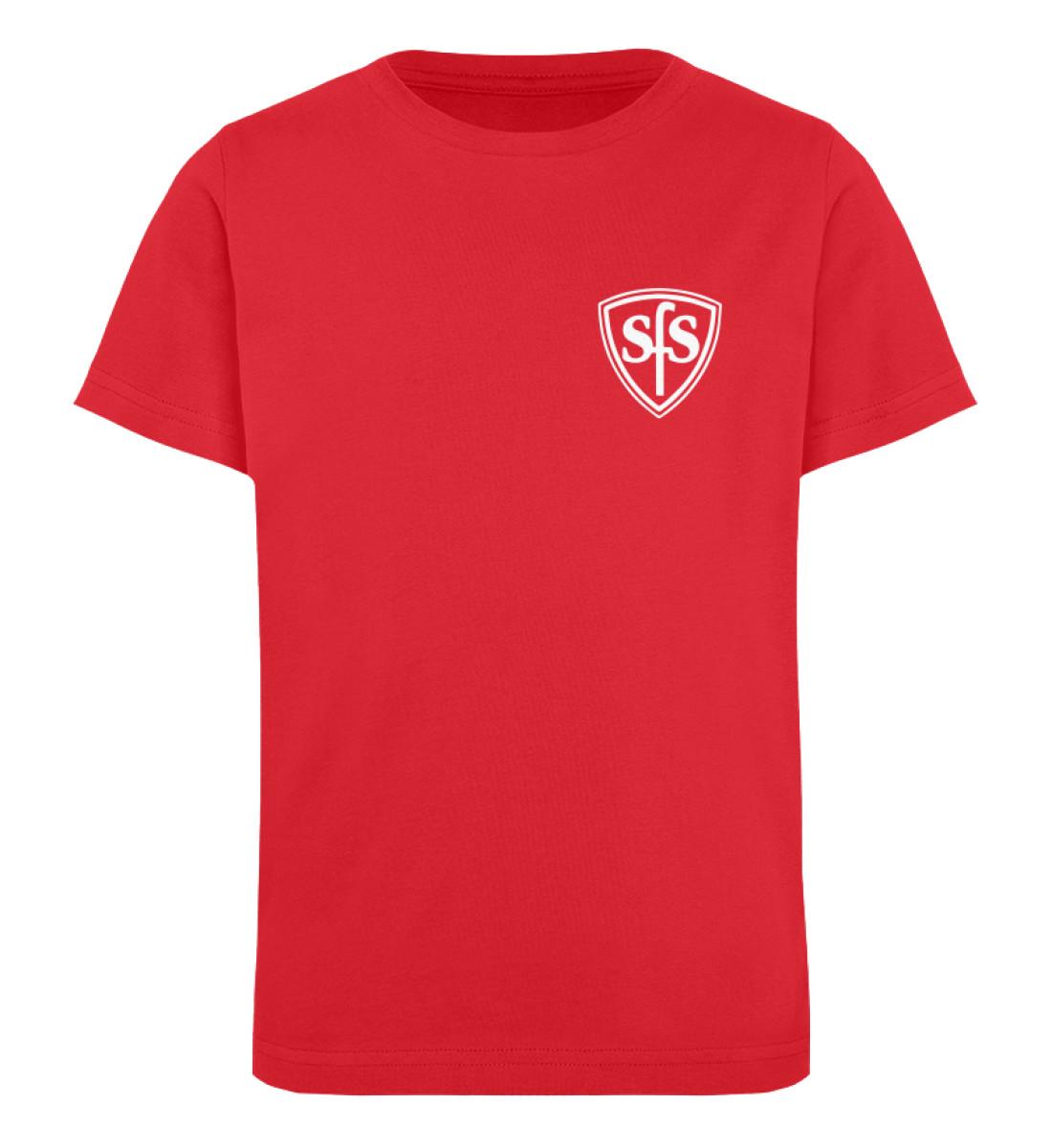 Sportfreunde Sennestadt - Kinder Organic T-Shirt-6882