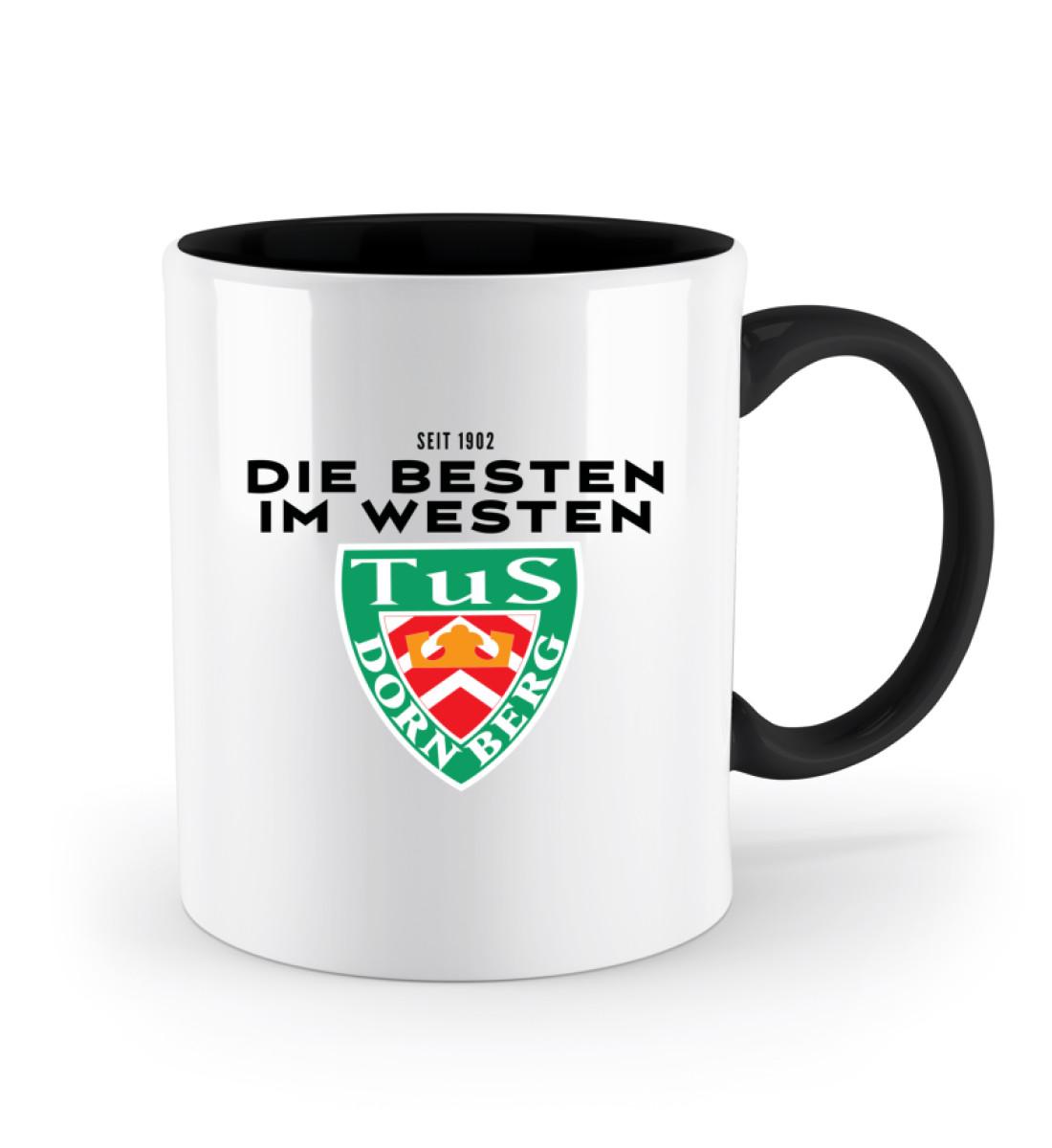 Die Besten im Westen - Zweifarbige Tasse-16