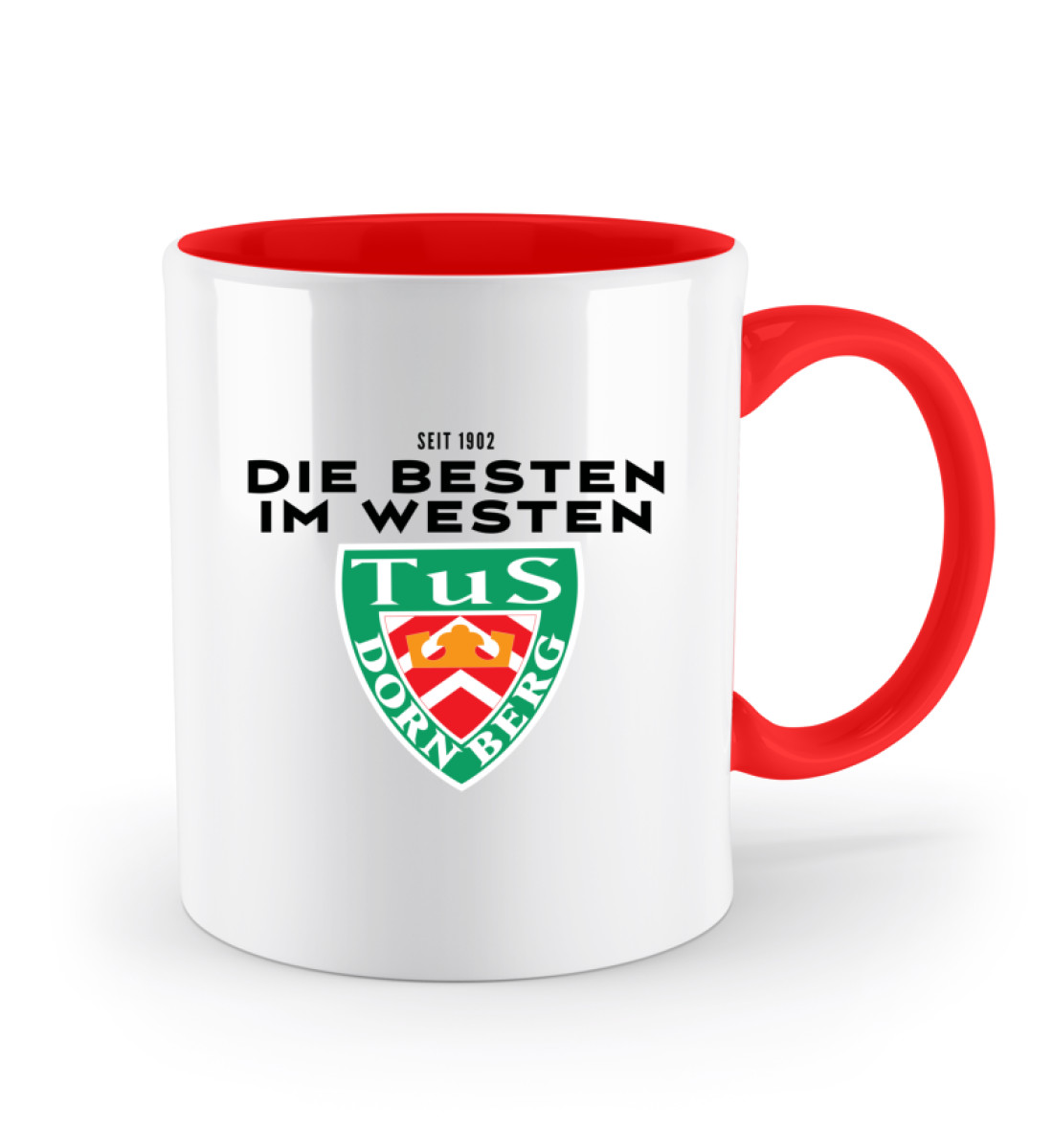 Die Besten im Westen - Zweifarbige Tasse-5761
