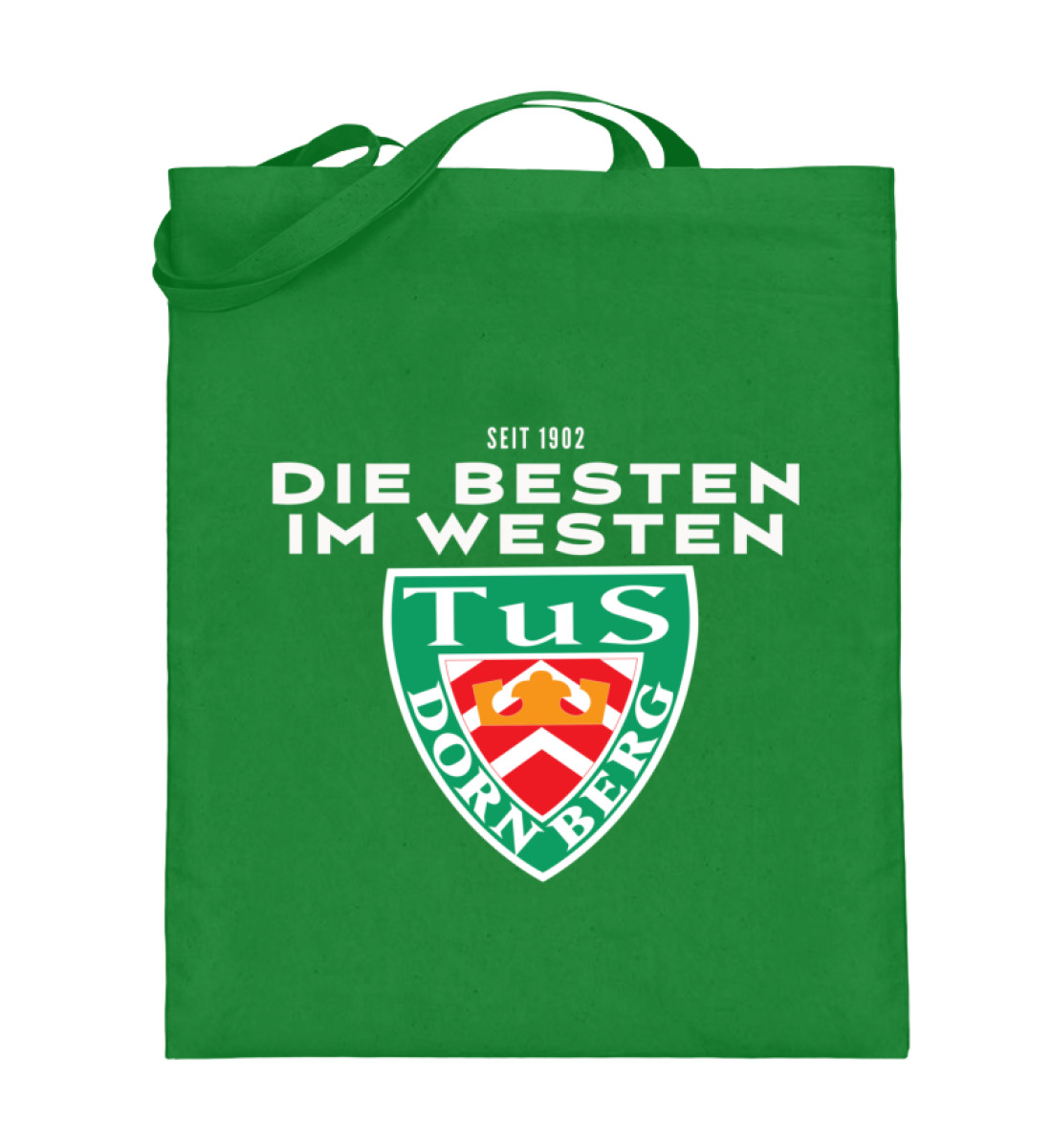 Die Besten im Westen - Jutebeutel (mit langen Henkeln)-5747