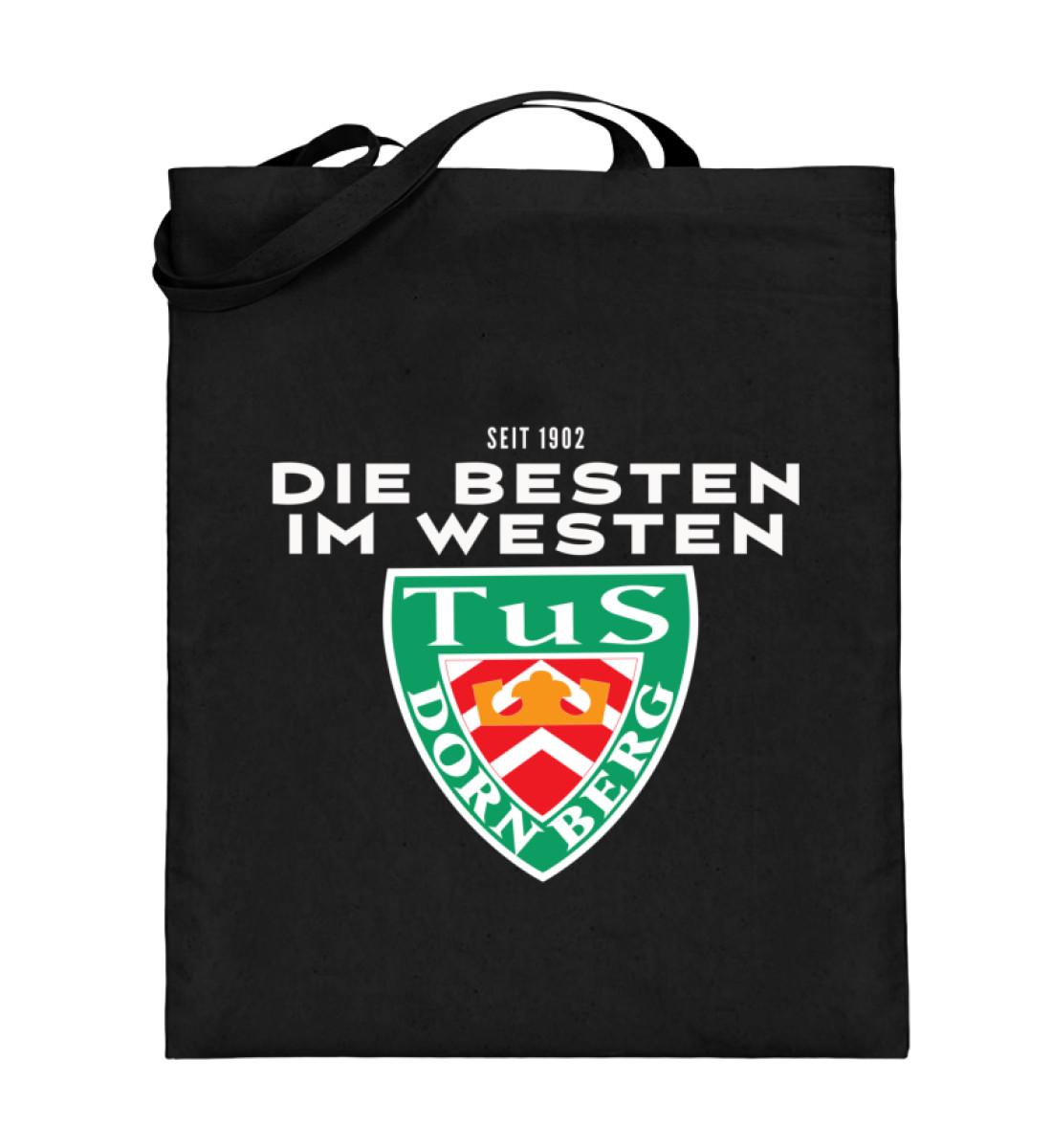 Die Besten im Westen - Jutebeutel (mit langen Henkeln)-16
