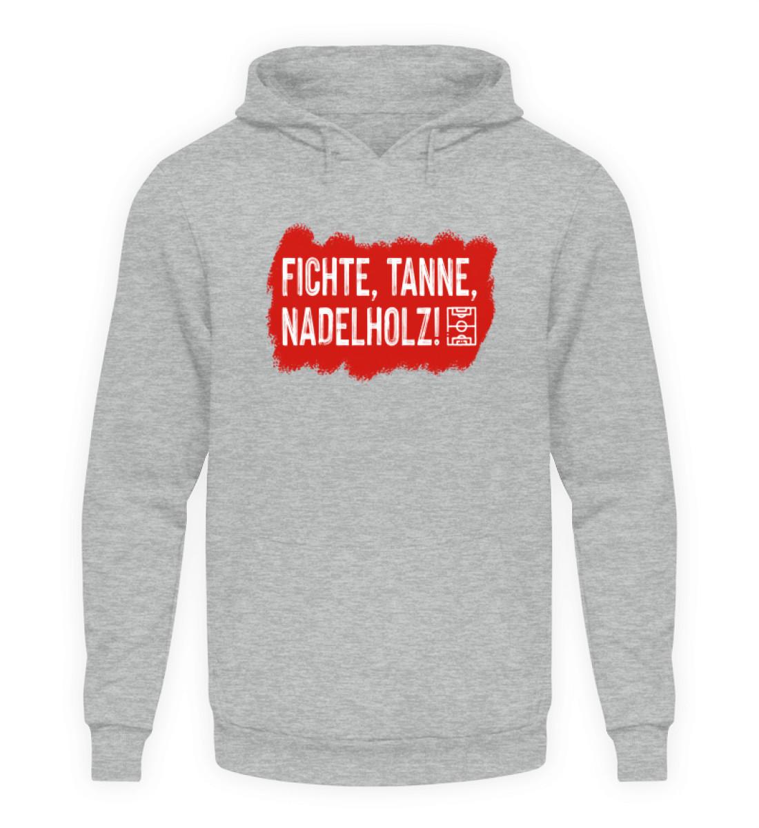 Fichte, Tanne, Nadelholz - Unisex Kapuzenpullover Hoodie-6807