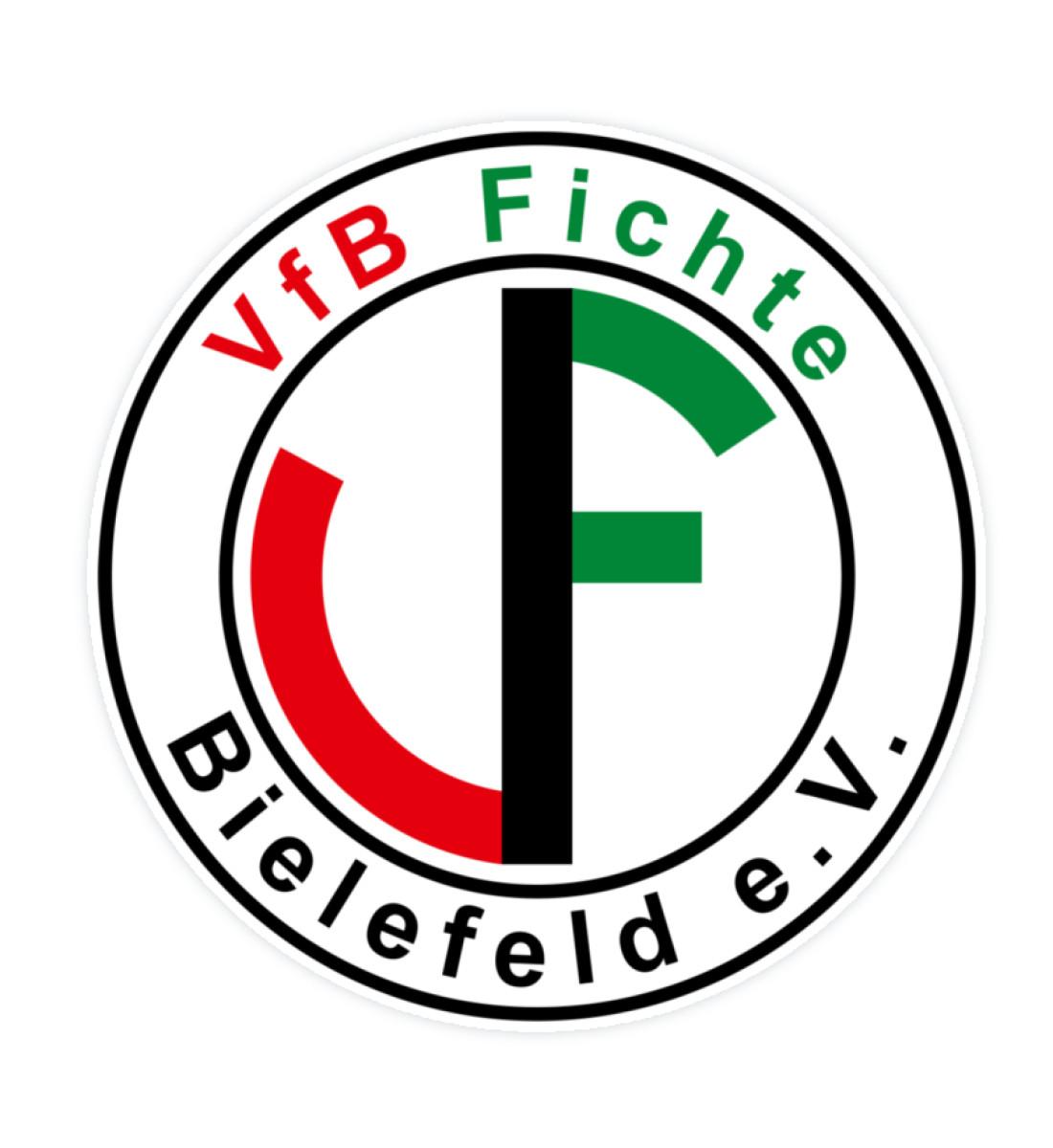 Fichte Bielefeld Logo - Sticker-3