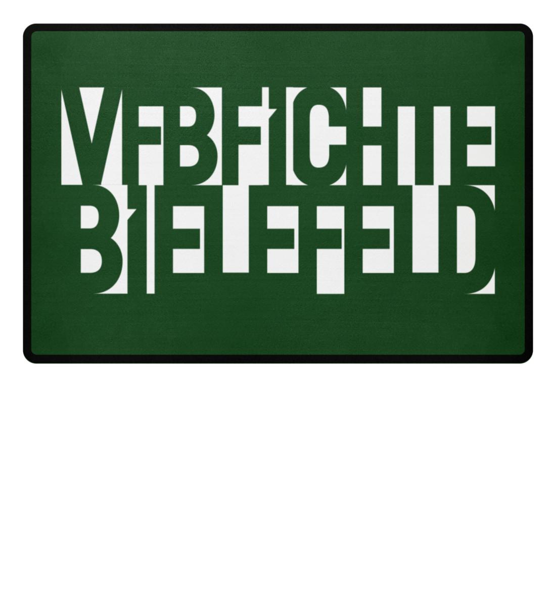 FICHTE FANBLOCK WEISS - Fußmatte-833