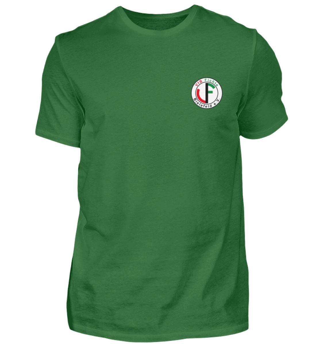 Fichte Bielefeld Logo - Herren Premiumshirt-30