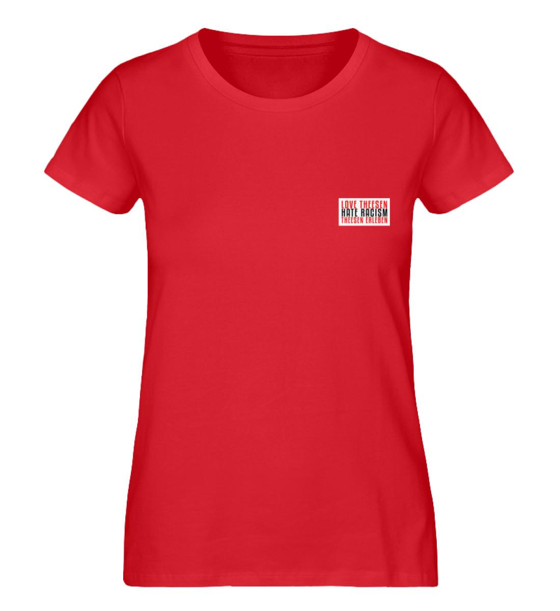 LOVE Theesen - Damen Premium Organic Shirt-6882