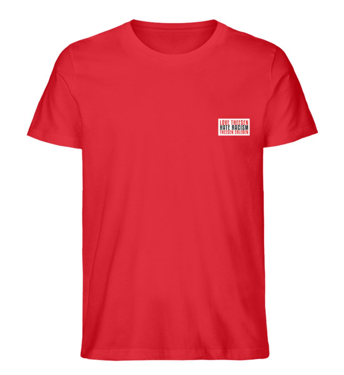 LOVE Theesen - Herren Premium Organic Shirt-6882